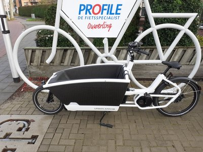 DEMO: Urban Arrow Family Bosch Cargo Line Disc Zee 225km White