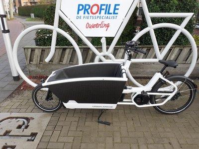 DEMO: Urban Arrow Family Bosch Cargo Line Disc Zee 225km White