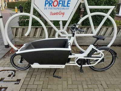 DEMO: Urban Arrow Family Bosch Active PLUS Disc Deore 287km White