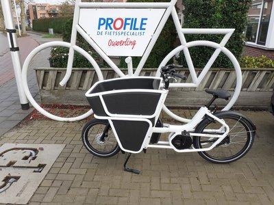 DEMO: Urban Arrow Shorty Bosch Active PLUS Rollerbrake 159km White